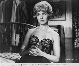 """Joanne Woodward, Publicity Portrait, on-set of the Film, """"Paris Blues"""", United Artists, 1961"""