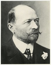 Emil von Behring (1854-1917), German Physiologist who Received the 1901 Nobel Prize in Physiology or Medicine, the First one Awarded, for his Discovery of a Diphtheria Antitoxin, Head and Shoulders Po...