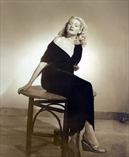 """Cathy Downs, Publicity Portrait for the Film, """"For You I Die"""", Film Classics, 1947"""