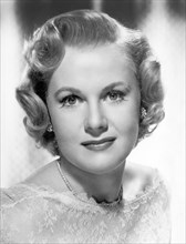 Actress Marilyn Erskine, Head and Shoulders Publicity Portrait, MGM, early 1950's