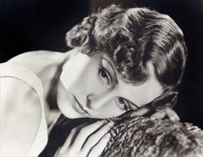 Actress Madge Evans, Head and Shoulders Publicity Portrait, MGM, 1930's