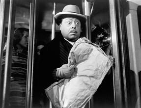 "Aldo Fabrizi, on-set of the Italian Film, ""Father' Dilemma"", aka ""Primo Communione"", Arthur Davis Associates, 1950"