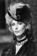 """Morgan Fairchild, Head and Shoulders Publicity Portrait for the American Television Miniseries, """"North and South Book II"""", ABC-TV, 1986"""