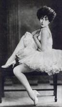 Actress Alberta Vaughn, Full-Length Publicity Portrait, 1920's