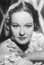 Actress Evelyn Venable, Head and Shoulders Publicity Portrait, Paramount Pictures, 1930's