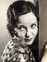 Actress Elda Vokel, Publicity Portrait, Photograph by Alex Kahle, Fox Film Corporation, early 1930's