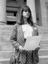 "Tammy Lauren, on-set of the CBS-TV Schoolbreak Special, ""The Emancipation of Lizzie Stern"", 1991"