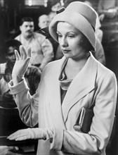 "Susan Lederer, on-set of the TV Movie, ""Judge Horton and the Scottsboro Boys"", NBC-TV, 1976"