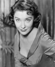 """Virginia Leith, Publicity Portrait for the Film, """"Toward the Unknown"""", Warner Bros., 1956"""