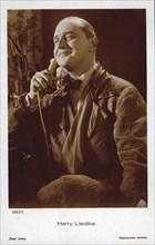 German Actor Harry Leidtke, Publicity Portrait, AAFA Film, Ross Verlag, 1930's