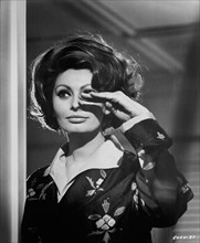"""Sophia Loren, Publicity Portrait for the Film, """"A Countess from Hong Kong"""", Universal Pictures, 1967"""