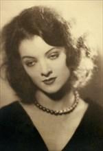 Actress Myrna Loy (1905-93), Publicity Portrait, 1920's