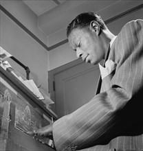 Nat King Cole, man, musician, entertainment, celebrity, historical,