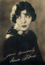 French Actress Renee Adoree (1898-1933)