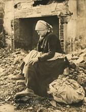Elderly French Woman