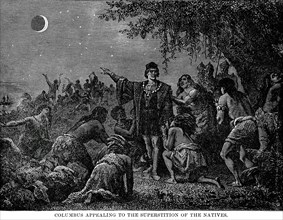 Columbus Appealing to the Superstition of the Natives