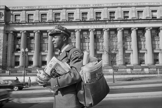 Mailman on Route, Washington D.C., April 1957