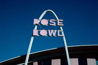 Rose Bowl Sign, Tulsa,