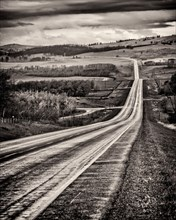 Highway, Southern Alberta,
