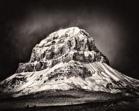 Crowsnest Mountain, Alberta,