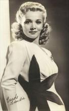 Actress Carole Landis