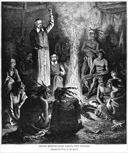 Jesuit Missionaries among the Indians