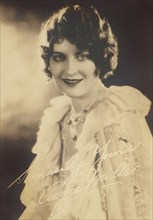 American Silent Film Actress Alyce Miller
