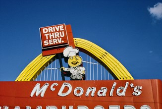McDonald's Restaurant sign, Alfran Street