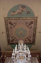 France, Ile de France, Paris 7e arrondissement, 78 rue de Lille, Hotel de Beauharnais, residence de l'ambassadeur d'Allemagne, hotel particulier, chambre du prince Eugene
