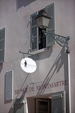 Montmartre, Rue Cortot