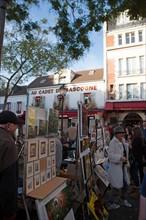 Montmartre, Place Du Tertre