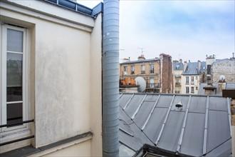 Toits de Paris dans le 18e arrondissement