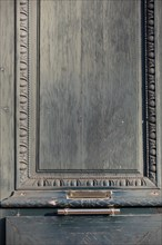 Paris, détail d'une porte cochère