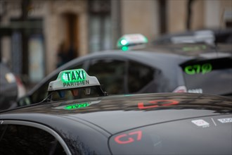 Paris, taxis