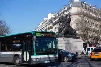 Paris, place Denfert Rochereau