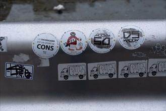 Paris, stickers