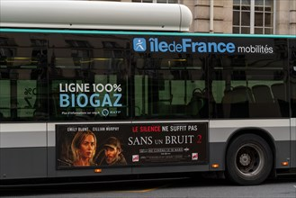 Paris, bus Biogaz