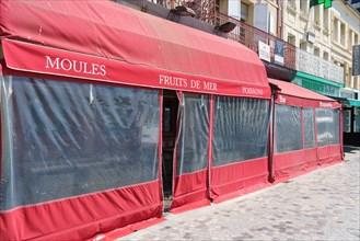 Trouville-sur-Mer, restaurant fermé pour cause de Covid-19