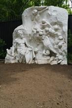 Victor Hugo ou La Vision du poète, sculpture de Georges Bareau