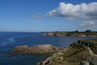 Mer d'Iroise à la Pointe Saint-Mathieu, Finistère nord