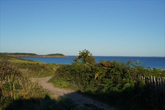 Pointe de Kermorvan, Finistère nord, GR34