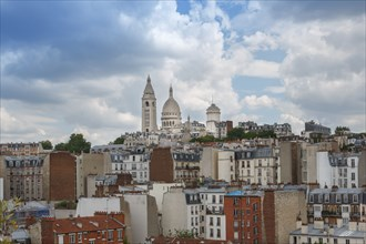 Paris, vue sur le Sacré Cœur