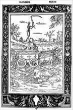 Triomphe de la mort lors d'épidémies de peste