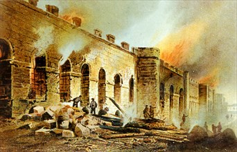 Incendie des monuments publics pendant la Commune