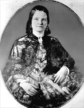 Marie Todd. Epouse d'Abraham Lincoln.