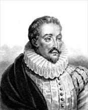 Portrait de Miguel de Cervantes
