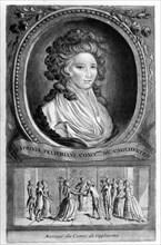 Portrait de la comtesse de Cagliostro (Syraphinia Felichiani)