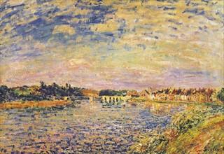 Sisley, La Seine