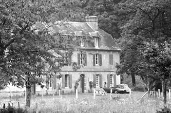 Manoir du Breuil à Equemauville (Normandie), maison de Françoise Sagan