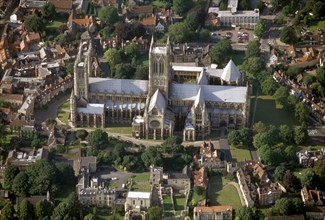 Lincoln Cathedral, Lincolnshire, 1999